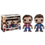Supernatural Sam & Dean HMV 2 Pack Exclusive Pop! Vinyl Figure